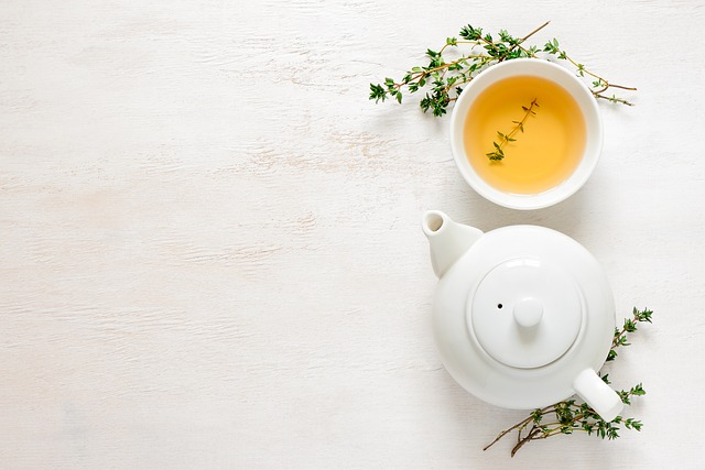 The right time to drink green tea