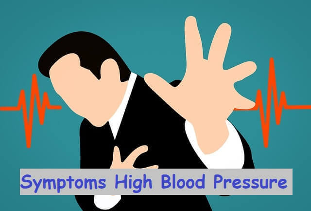 Symptoms High Blood Pressure - Chest pain
