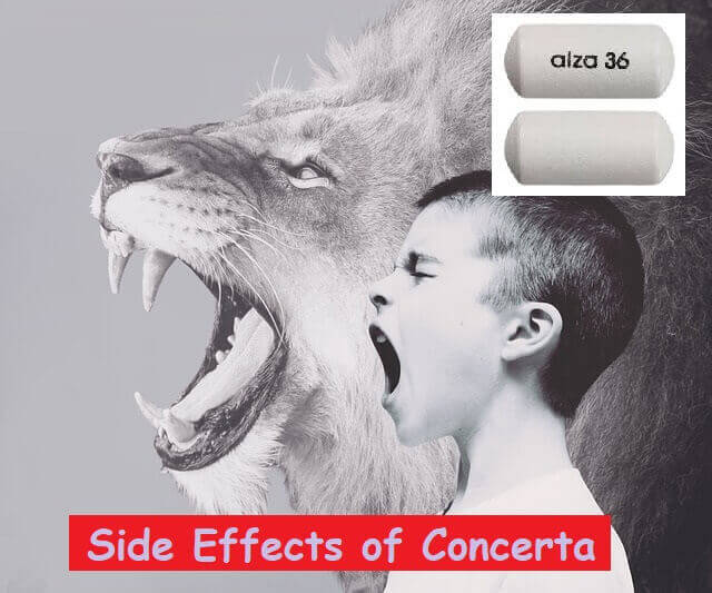 Side Effects of Concerta