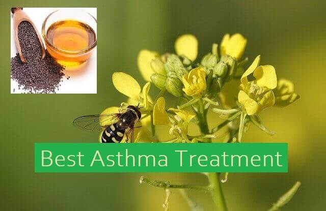 Best Asthma Treatment - Mustard oil