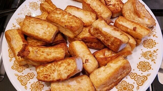 Keto Breakfast Ideas - Stir Fried Tofu Recipe