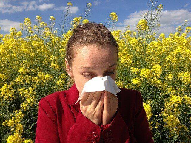 Respiratory allergy symptoms